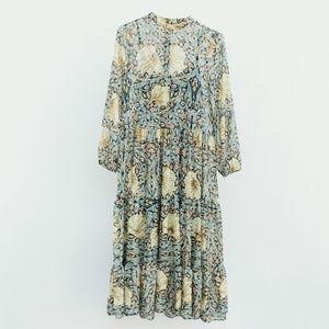 HM x Morris & CO Floral Dress